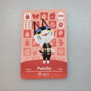 050 Punchy Amiibo Card Animal Crossing Custom/Fan